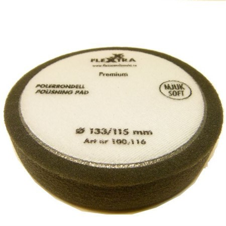 Polerrondell Mjuk 133mm 10-pack