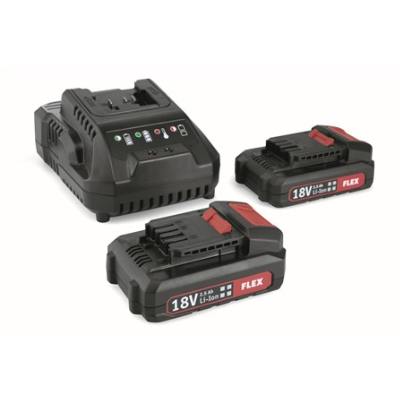 Batteripack 1 plus laddare 18V